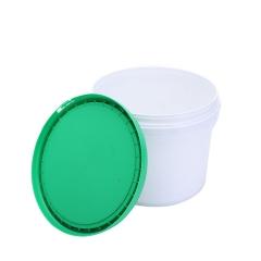 厂家专业生产6L耐磨包装桶涂料桶白乳胶化工桶带盖密封圆形塑料桶