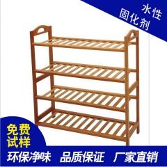 锦坤水性固化剂树脂红木硬化剂仿古效果红木拼接板环保水性木器漆 哑光