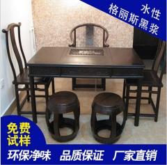 广东锦坤牌水性格丽斯黑浆水性木器漆室内户外木制艺术品环保漆 亮光