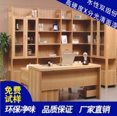 厂家现货水性木器漆环保高光清面漆室内户外木制品翻新专用面漆 高光