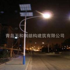 6-12米太阳能路灯杆