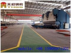 青岛平度天和国内单层钢结构厂房