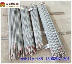 外贸加工出口配套Q235Q345镀锌喷塑的钢梁天和公司制作