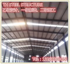 青岛镀锌喷漆钢结构厂房天和公司加工