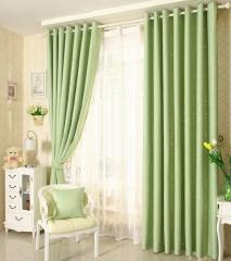隔热窗帘成品简约现代欧式客厅落地窗卧室遮阳布窗帘遮光布全遮光