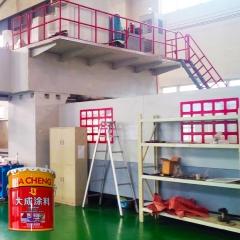 脂肪族聚氨酯面漆 镀锌板镀锌管专用漆 金属机械设备防腐涂料