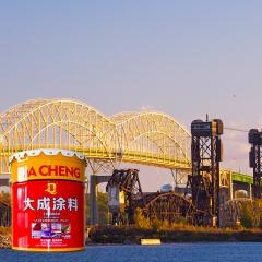 氟碳漆 金属机械氟碳面漆 钢结构桥梁重防腐 机器设备防腐漆
