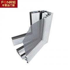 厂家定制隔音隔热90断桥窗 防盗窗 断桥铝合金门窗窗纱一体平开窗
