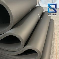 绿米保温橡塑板 墙面阻燃防火吸音黑色橡塑板 高密度海绵板批发