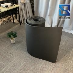 现货供应保温橡塑阻燃板 墙体隔热防火高密度不干胶橡塑海绵板