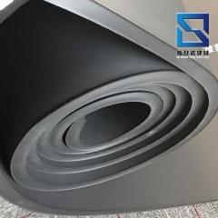 高密度背胶橡塑保温板厂家 阻燃隔热空调隔音板 铝箔贴面橡塑板