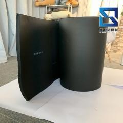 橡塑海绵保温板 高回弹橡塑板 B级隔热橡塑板高密度橡塑发泡板