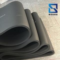 自粘保温隔热橡塑板 b1级阻燃橡塑海绵板高密度1mX1m发泡橡塑平板