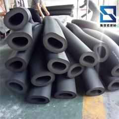 橡塑保温管 自粘开口式铝箔 b2级高密度光面海绵保温管50mm价格