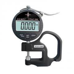 测厚仪测量厚度高精度0.001数显千分尺厚度规纸张薄膜厚度测量仪