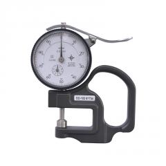 促销Mitutoyo三丰7301指针式测厚规SD机械测厚仪0-10厚薄计厚度表