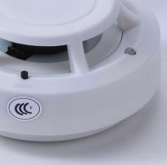 安吉斯独立式光电感烟火灾探测器 烟感报警器 烟雾报警设备