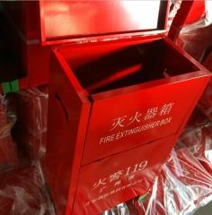 灭火器箱 消防应急箱 消防检查 各种规格手提式干粉灭火器箱定制 2*2灭火器箱