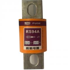 MRO茗熔圆管螺栓型快速熔断器RS94A 200A