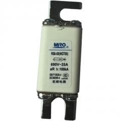 茗熔NGT00(RS6-00/RS711B)方形快速熔断器 陶瓷保险丝 690V