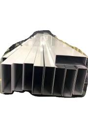 深圳6063铝合金 批发铝管 各种圆管 铝方管 铝方通