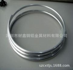 1060铝盘管4x1_毛细1060盘铝管现货供应_100米一卷