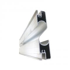 直销出口灯管铝合金型材 灯管散热器铝材 挤压开模定制工业铝型材