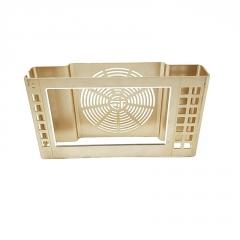 厂家供应机电外壳铝材 6063电视机边框铝型材 定制工业异形铝型材