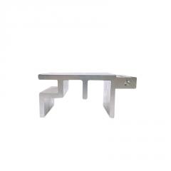 6063-t5铝及铝合金材工业铝 铝型材框架工业铝型材 开模定制加工
