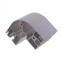 厂家定制直销 铝型材3030R铝合金弯管型材支架框架工作台异型材