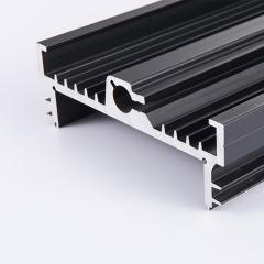 cnc加工铝散热型材制品 cnc加工铝合金铝散热板 铝合金散热面板
