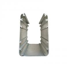 厂家直销U工业铝材6063 铝合金U槽包边挤压铝合金型材支持定制