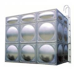 厂家直销304方形组合式不锈钢膨胀水箱不锈钢保温水箱消防水箱