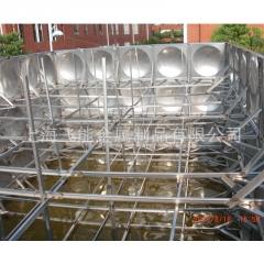 飞能厂家直销不锈钢拼接水箱 304保温水箱 方形保温水箱 膨胀水箱