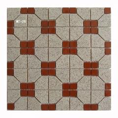 冰室茶餐厅地砖通体陶瓷马赛克复古马赛克瓷砖墙地砖300*300