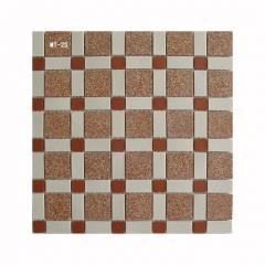 港式冰室茶餐厅地砖通体陶瓷马赛克瓷砖老式哑光马赛克300*300