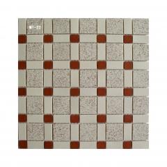 茶餐厅地砖通体陶瓷马赛克复古老款马赛克瓷砖 300*300