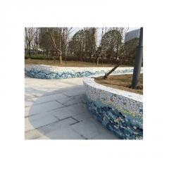 地面墙面景观墙阶梯别墅陶瓷碎片拼图马赛克拼花厂家直销阿里巴巴