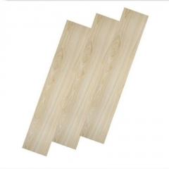 广东石塑地板厂家批发 深灰色橡木纹片材防水PVC塑胶地板酒店公寓