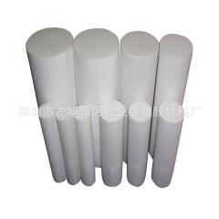 PCTFE棒规格尺寸 耐高温耐强酸白色半透明聚三氟乙烯棒材