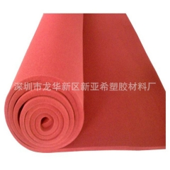 深圳乳白色耐高温2mm硅胶板 抗撕拉防腐防油硅胶皮厂家直销