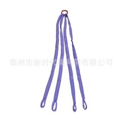 柔性吊装带  四肢吊带组合 柔性成套吊索具 起重吊带组合