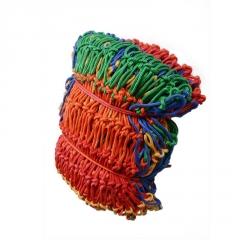 彩色防护网儿童防护网防坠网尼龙网网绳安全防护网彩色网阳台护网