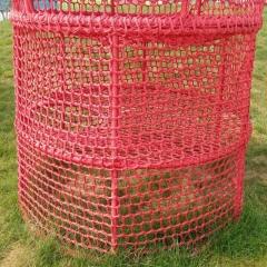 攀爬网户外攀岩网儿童攀爬网拓展训练网攀爬网儿童防护网尼龙彩网