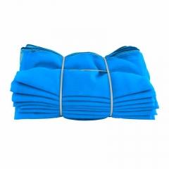 上海蓝阻燃网高密度聚乙烯网布密目是防护网防尘网量大从优可订制