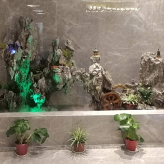 室内假山 水池水景 景观石 私人订制 庭院设计制作 爆款