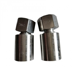 碳钢高压油管接头三件套扣压胶管接头厂家直销