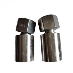 304不锈钢快速接头接头 快插气管接头