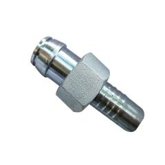 批发高压胶管接头公制英制接头型号齐全液压接头不锈钢胶管接头