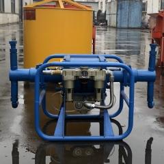 出售2ZBQ气动注浆泵 煤矿井下用防爆气动双缸注浆机 灰浆注浆机